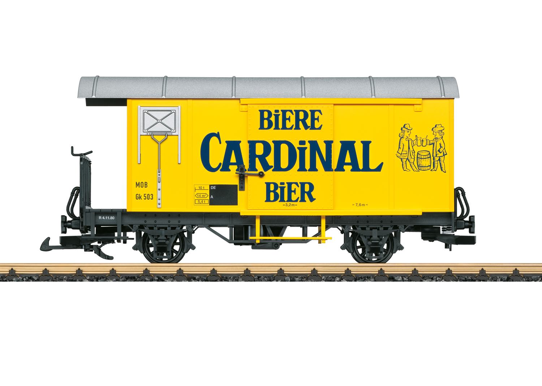 "MOB Güterwagen ""Cardinal Bier"""
