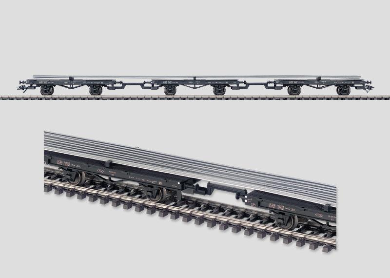 """Wagen-Set """"Schienentransport""""."""