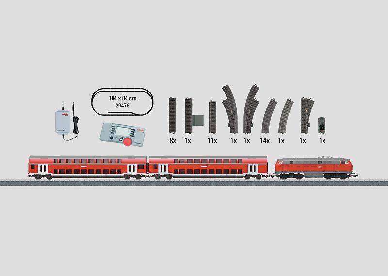 """Regional Express"" Digital Starter Set, 230 Volts."