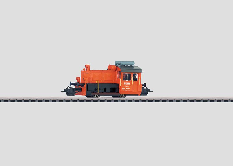 Small Diesel Locomotive.