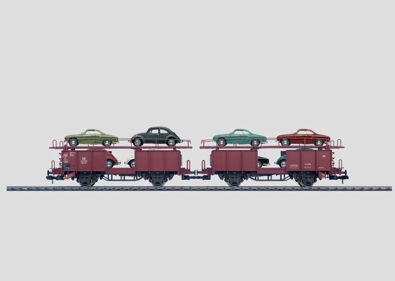 Double Auto Transport Car.