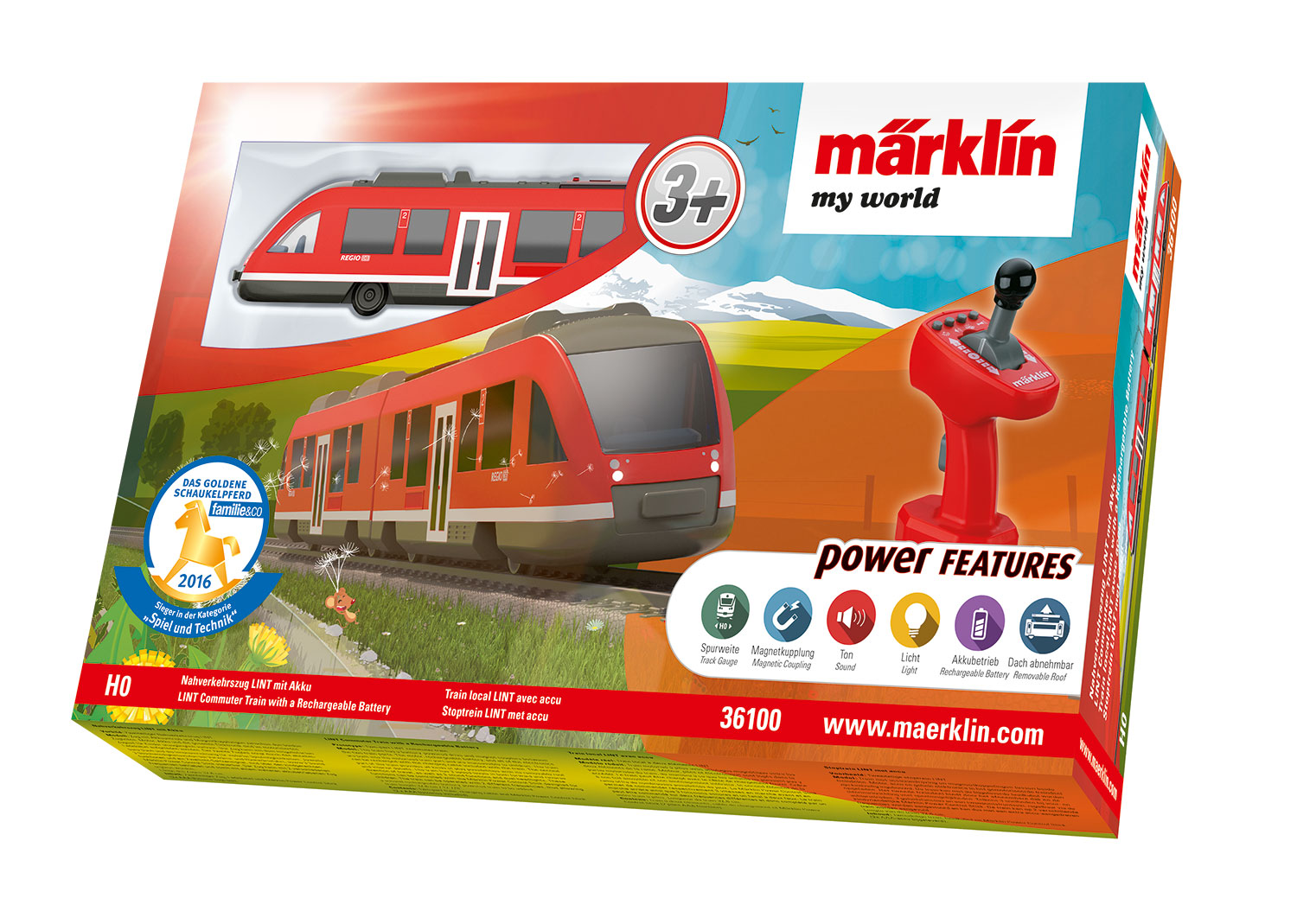 M 228 Rklin My World Lint Commuter Train With A Rechargeable