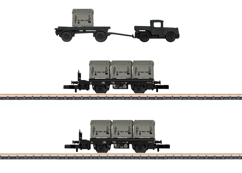 """""""Von Haus zu Haus"""" / """"From Door to Door"""" Freight Car Set"""