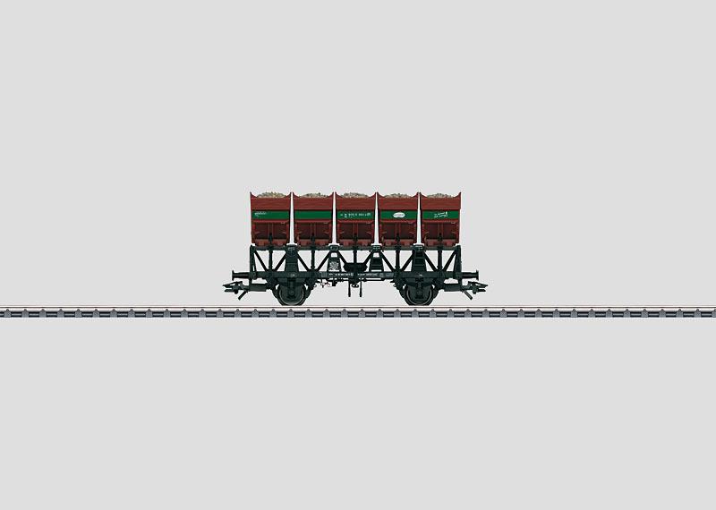 Muldenkippwagen.