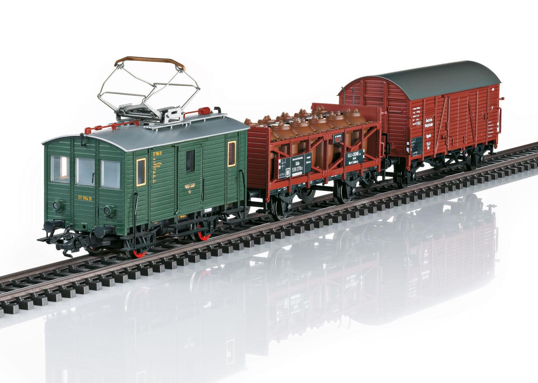 Zugpackung mit Güter-Triebwagen ET 194