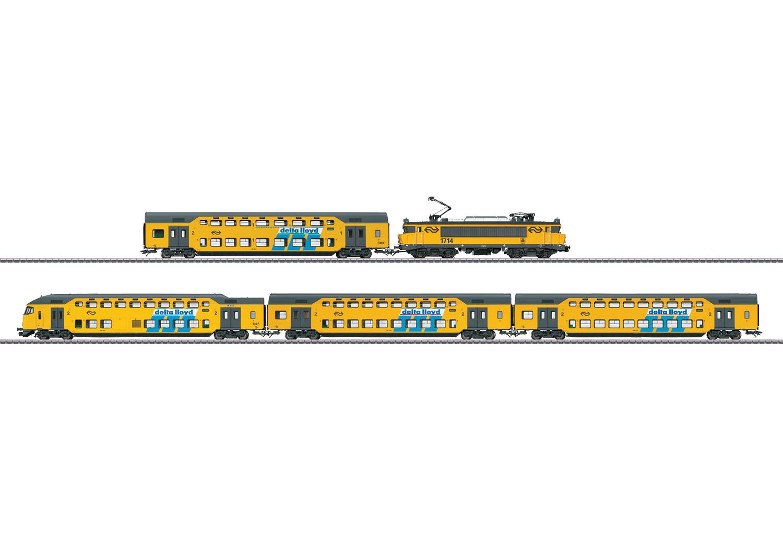 Bi-Level Commuter Train