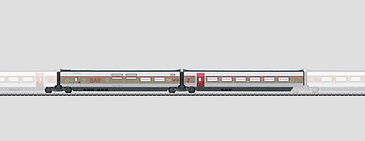 Coffret de complément 3 pour le TGV Lyria.