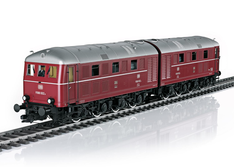 Diesel Locomotive, Road Number V 188 002 a/b, DB Era IIIb