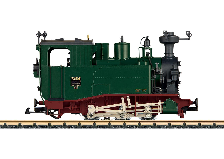 Dampflokomotive Sächsische I K