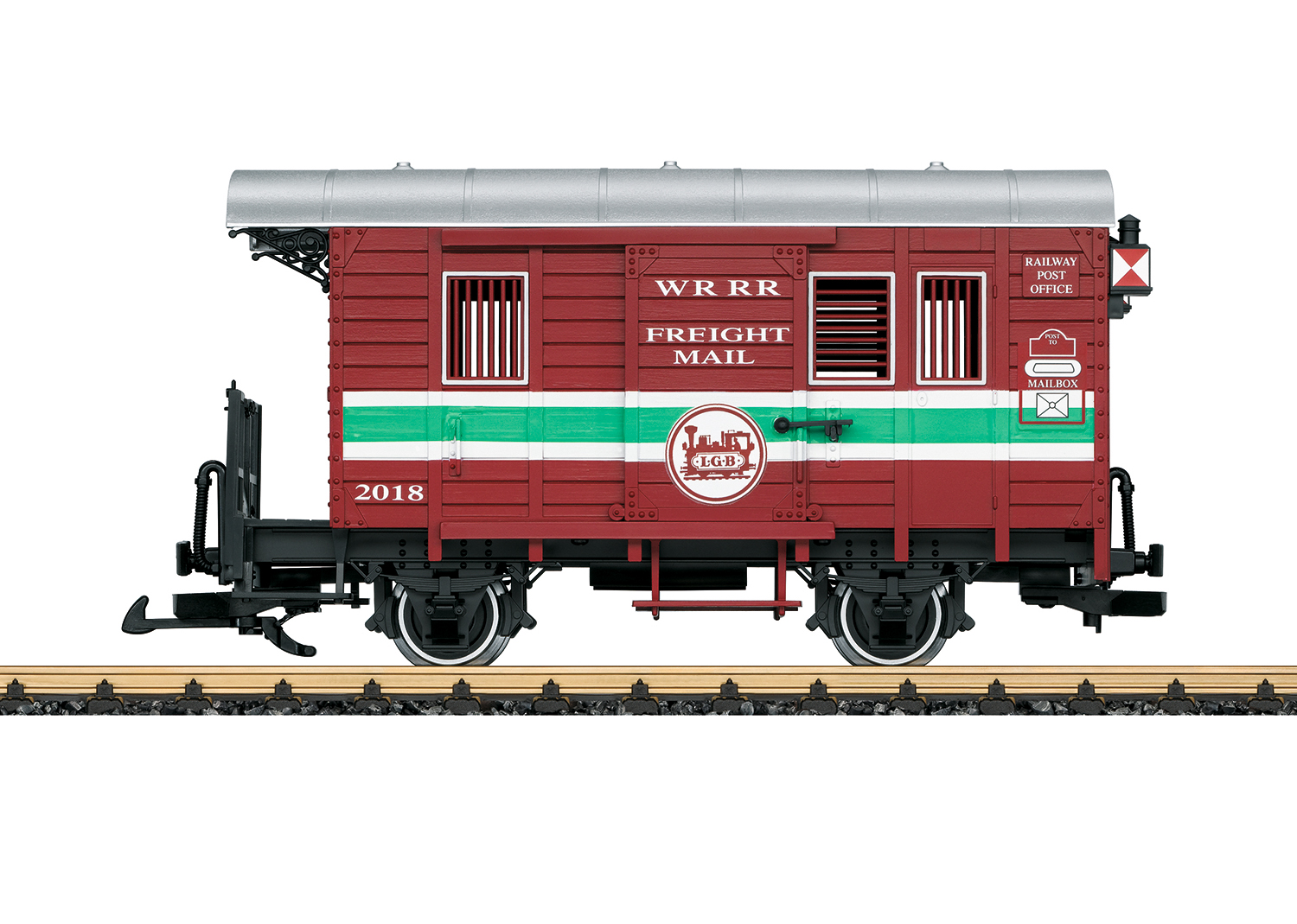 Mail Car for the Richter Stainz Locomotive