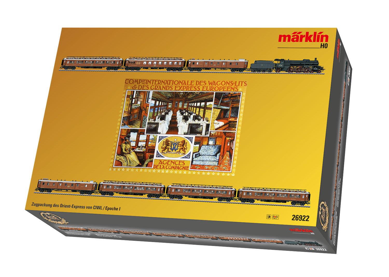 Zugpackung Orient Express mit badischer IV h