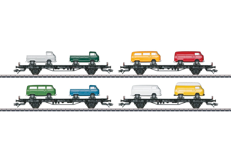 """VW Type T2 Bus Transport"" Auto Transport Car Set"