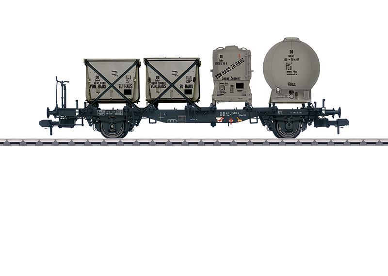 Wagon porte-conteneurs Lbs 584
