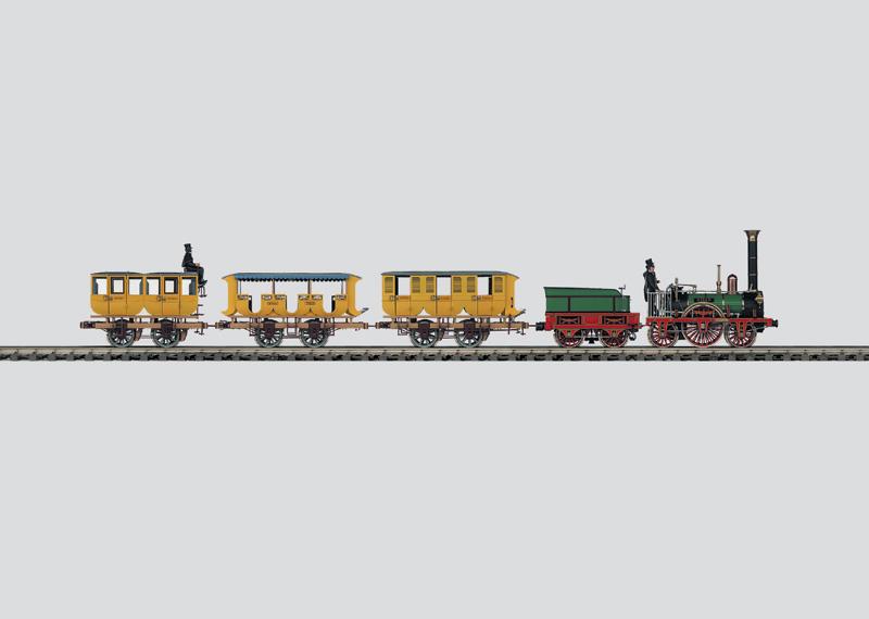 Historischer Personenzug ´Adler´