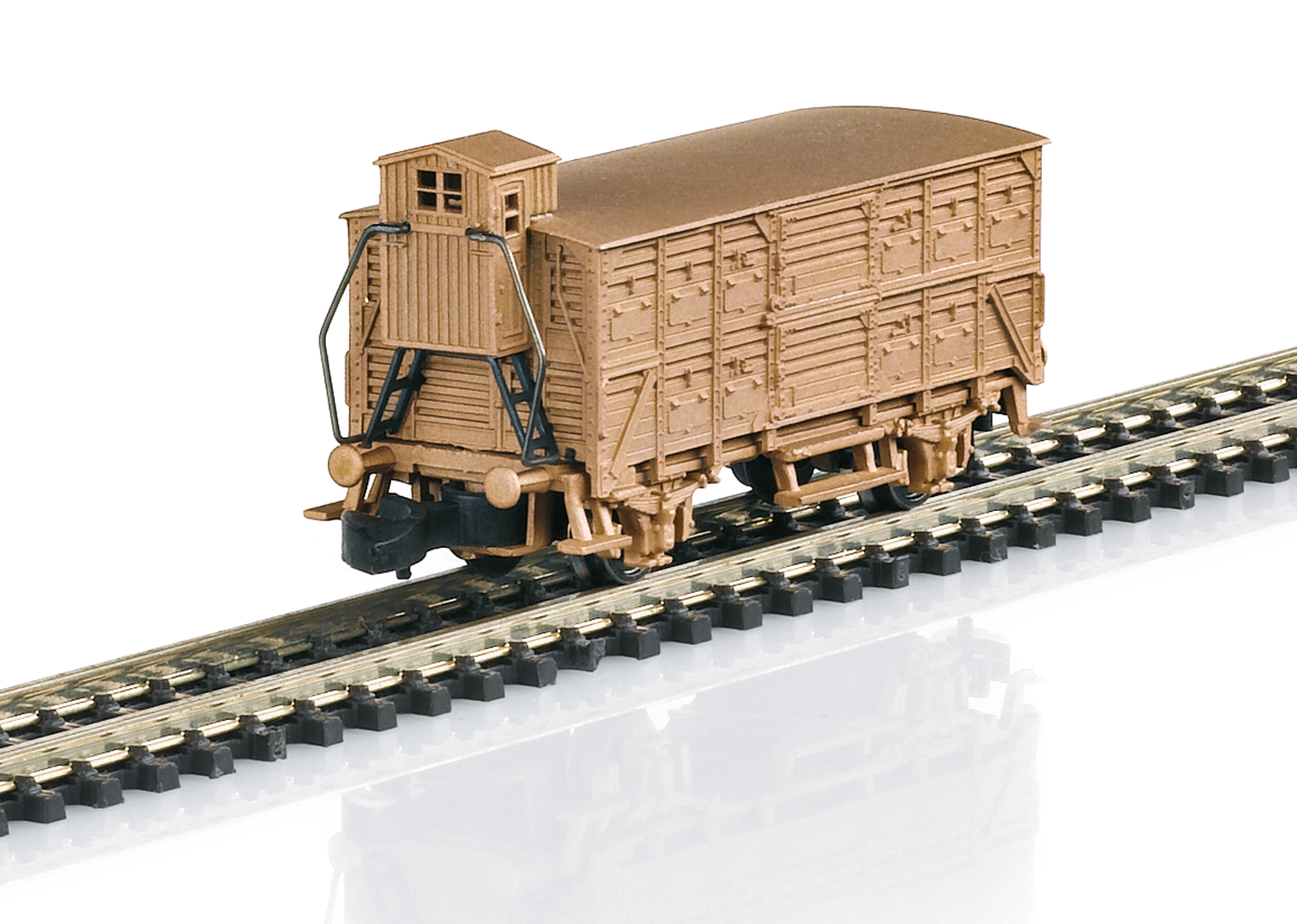 Type VH 14 Boxcar in Real Bronze