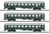 """Tin-Plate"" Express Train Passenger Car Set"