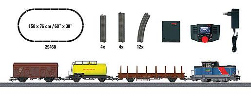 """Coffret de départ """"Train marchandises époque VI"""". 230 V"""
