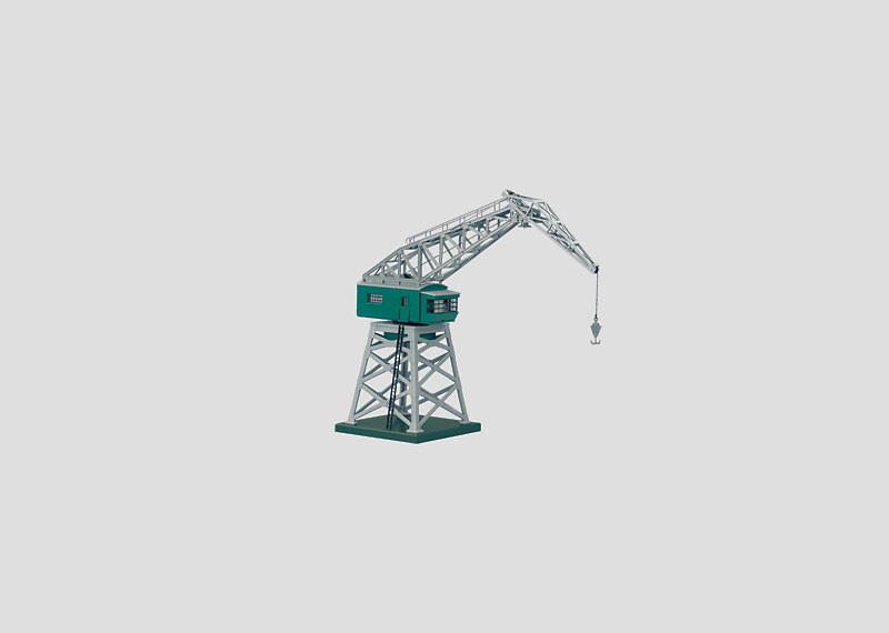 Remote Controlled Rotary Crane