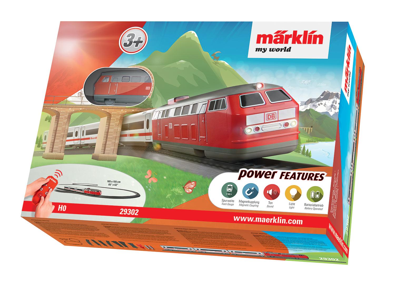 """Märklin my world - Startpackung """"Intercity""""."""