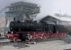 Güterzuglokomotive mit Schlepptender.