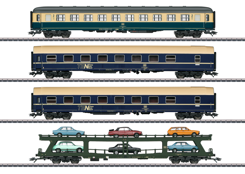 """Auto Train"" Car Set"