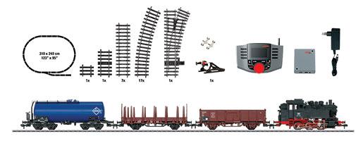 Coffret de départ numérique «Train marchandises»