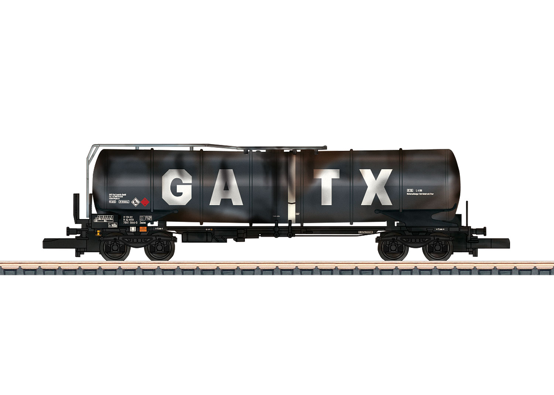 GATX Funnel-Flow Tank Car.