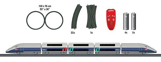 Coffret de départ «TGV Duplex».