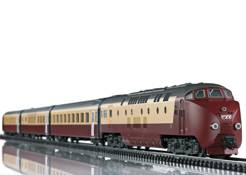 "Class RAm TEE ""EDELWEISS"" Diesel Powered Railcar Train"