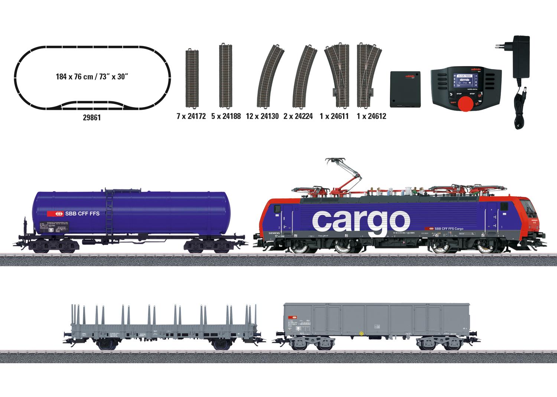 """""""Swiss Freight Train"""" Digital Starter Set"""