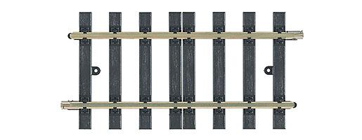 Rechte rail. 2 diagonale rails