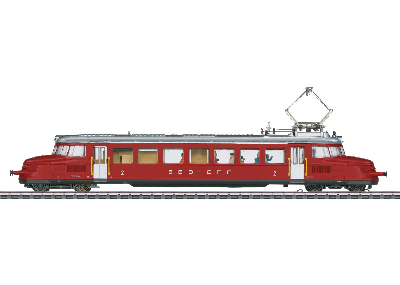Class RBe 2/4 Electric Express Powered Rail Car