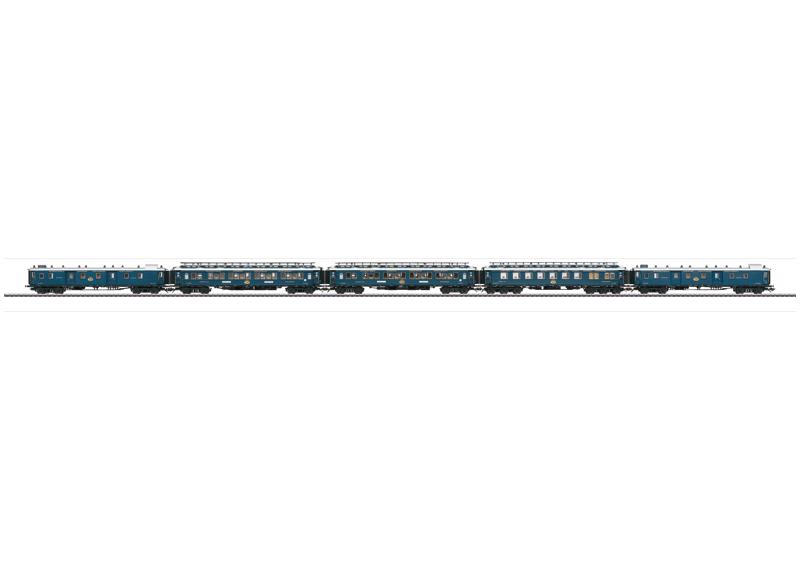 Orient Express 1928 CIWL Express Train Passenger Car Set