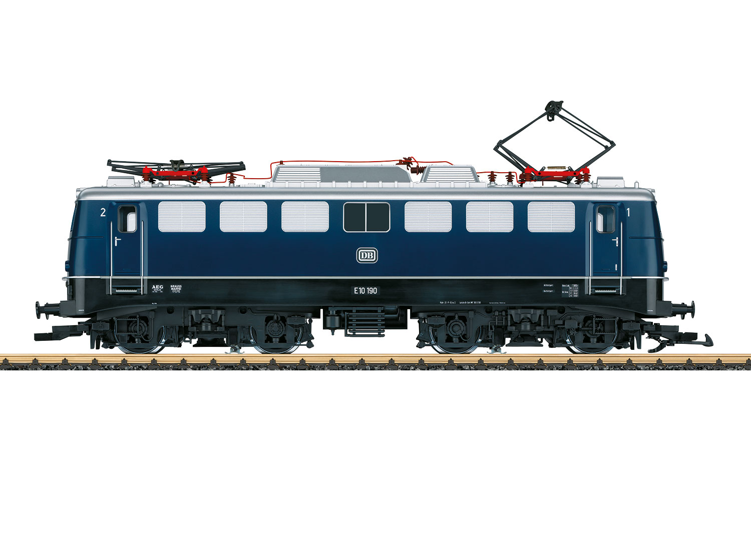 DB Era III E 10 Electric Locomotive