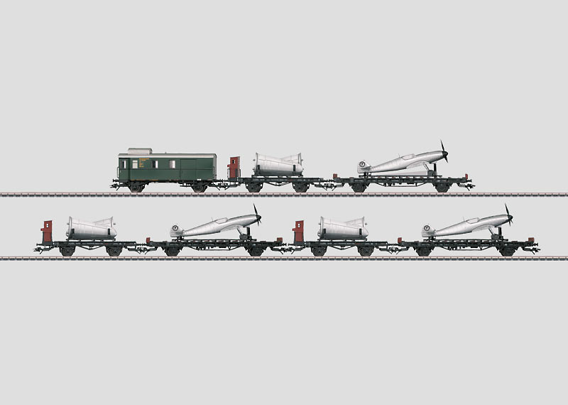 """Airplane Transport"" Car Set."