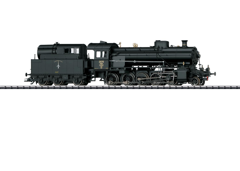 "Dampflokomotive Serie C 5/6 ""Elefant"""