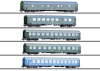 """GDR German State Railroad"" Passenger Car Set"