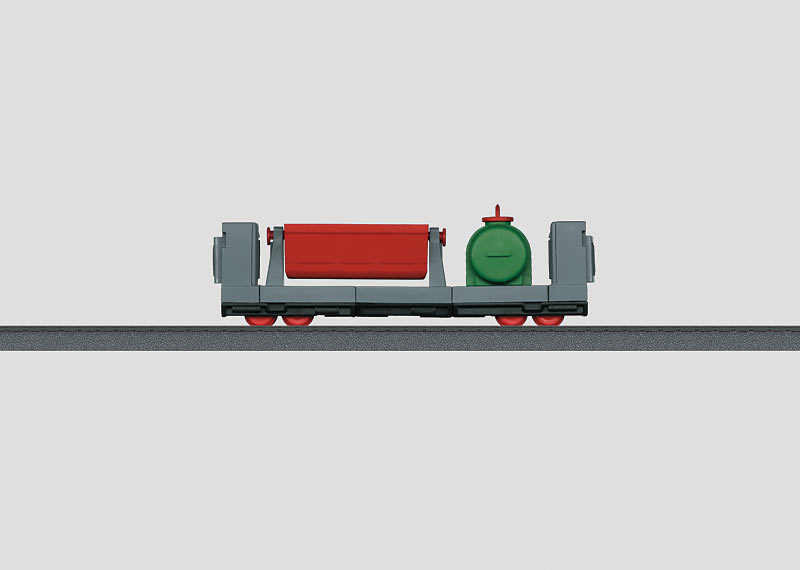 Four-Axle Low Side Car (Click and Mix).