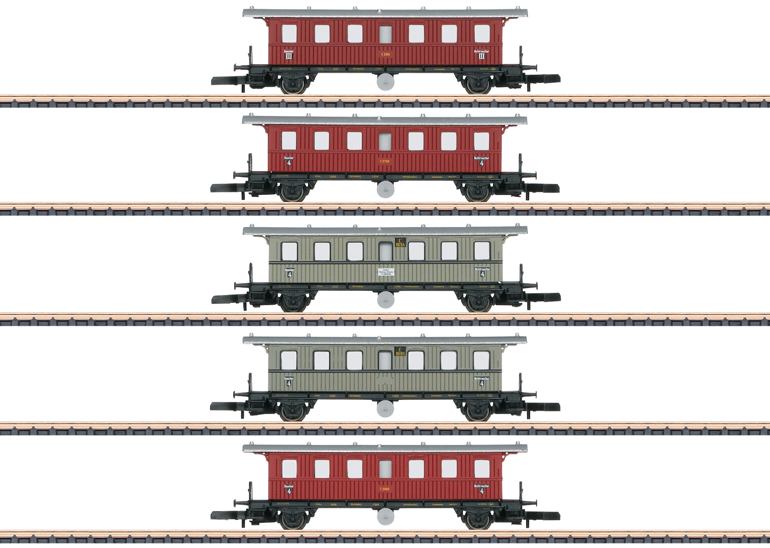 """Württemberg"" Passenger Car Set"