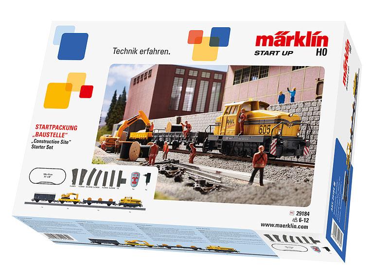 """Märklin Start up - Startpackung """"Baustelle"""". 230 Volt"""