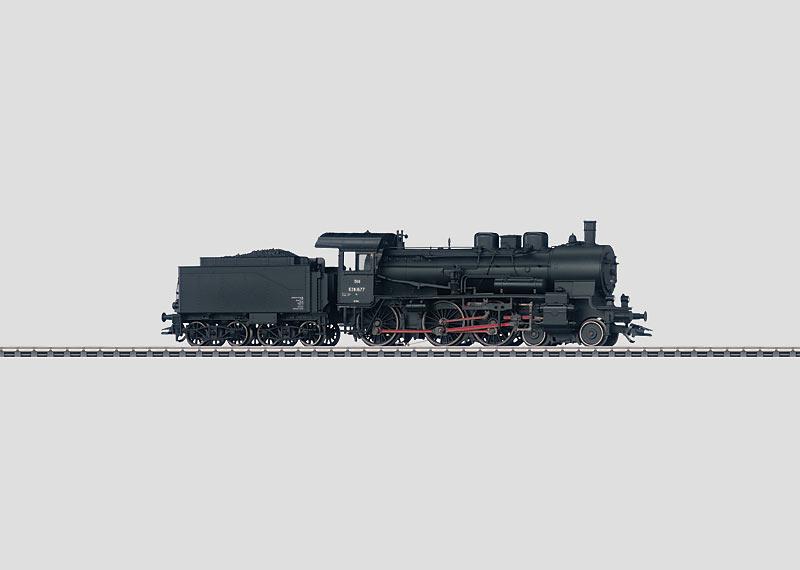 Steam Locomotive.