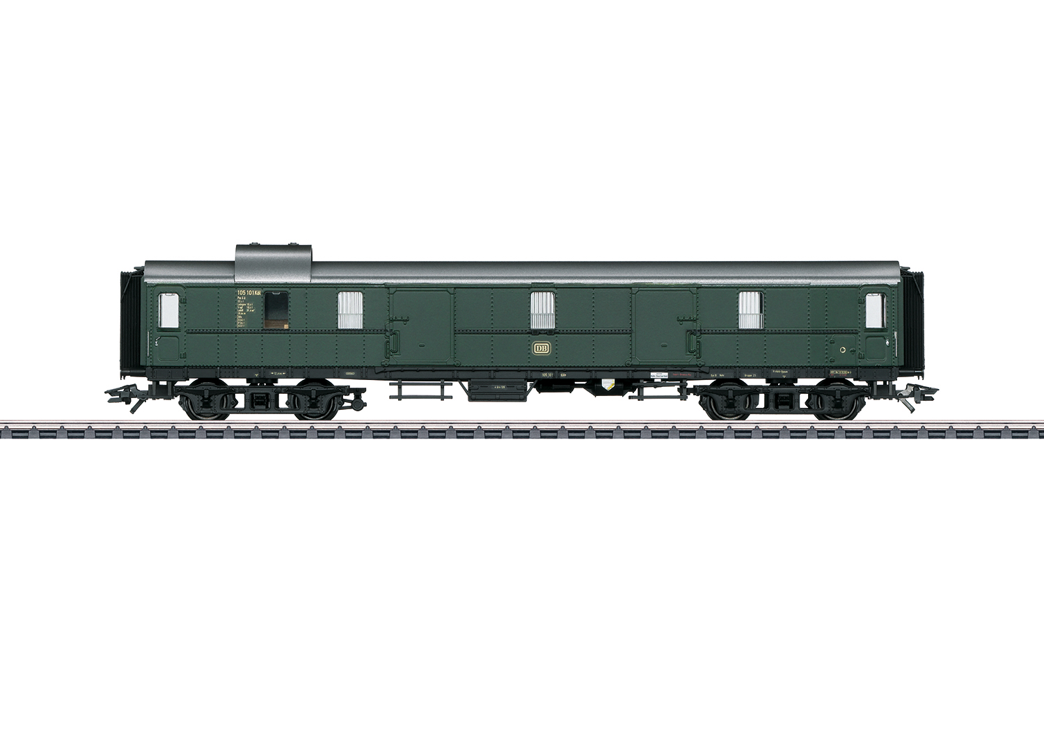 """""""Hecht"""" / """"Pike"""" Express Train Baggage Car"""