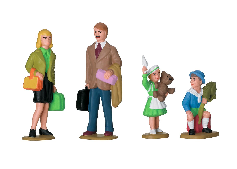 Figuren-Set Familie