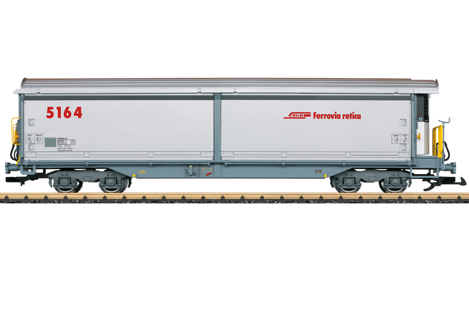 Sliding Wall Boxcar with Refrigeration Equipment