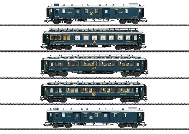 """Coffret de voitures de grandes lignes 1 """"Simplon-Orient-Express"""""""