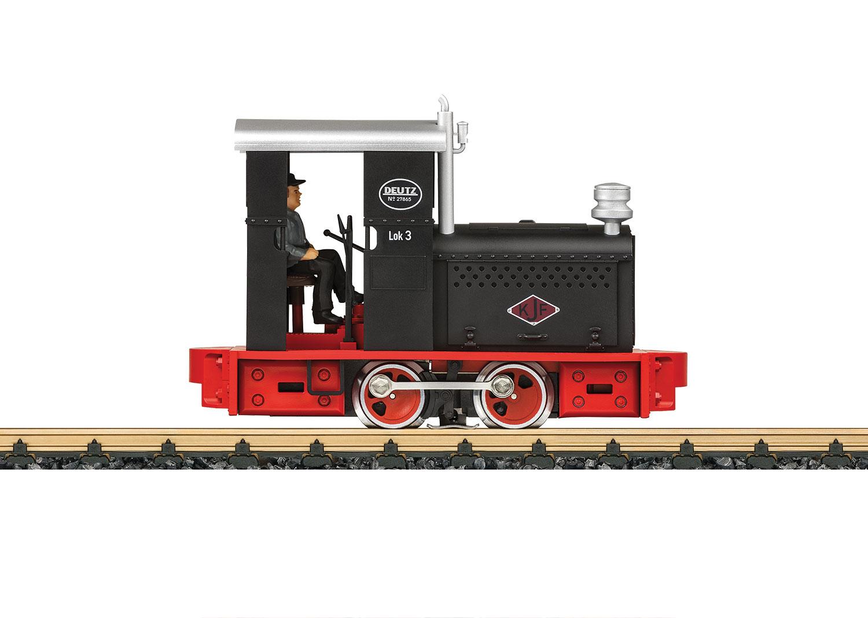 Narrow Gauge Diesel Locomotive