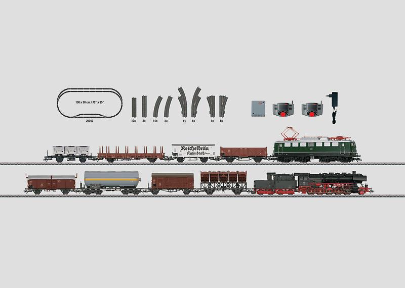 """Bundesbahn"" Digital Starter Set. 230 Volts."