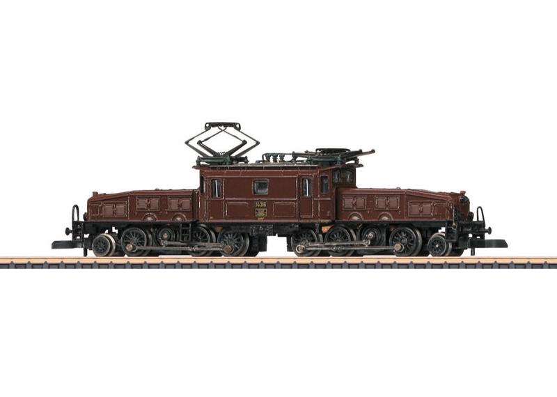 """Elektrische locomotief Ce 6/8 III """"Krokodil"""""""