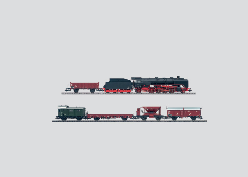 Freight Train Set with Large K Track Layout, Transformer, DELTA Control and  Rotary Crane