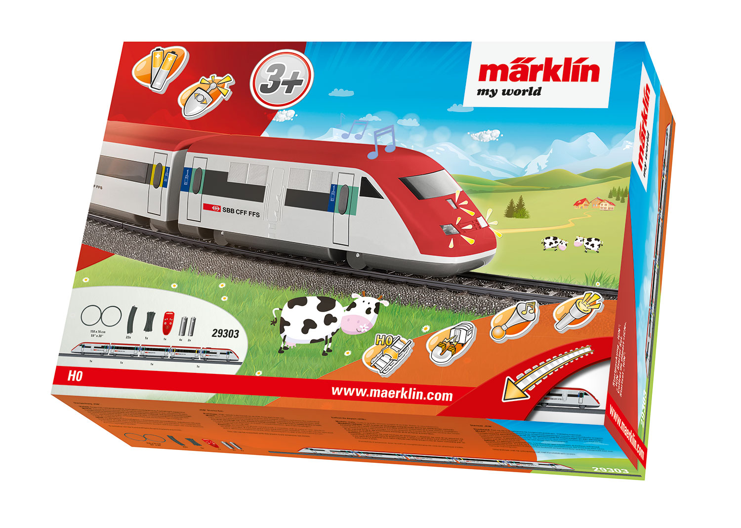 "Märklin my world - ""ICN"" Starter Set."